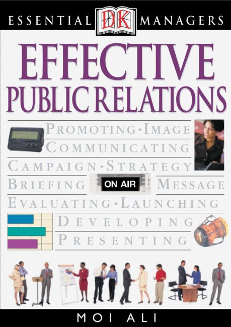 eBook cover of DK Essential Managers: Effective Public Relations