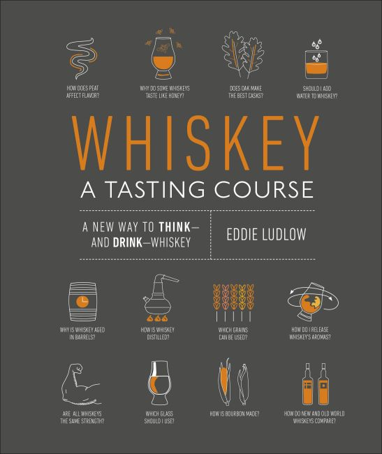 Hardback cover of Whiskey: A Tasting Course