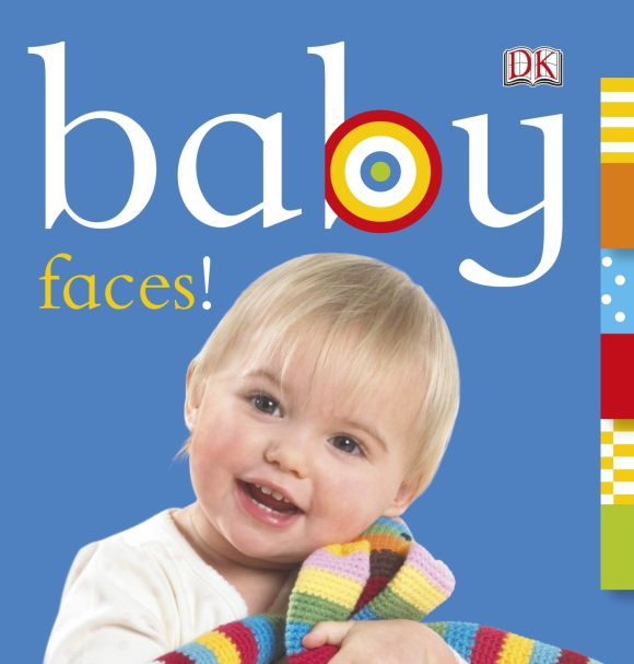 Board book cover of Baby: Faces!