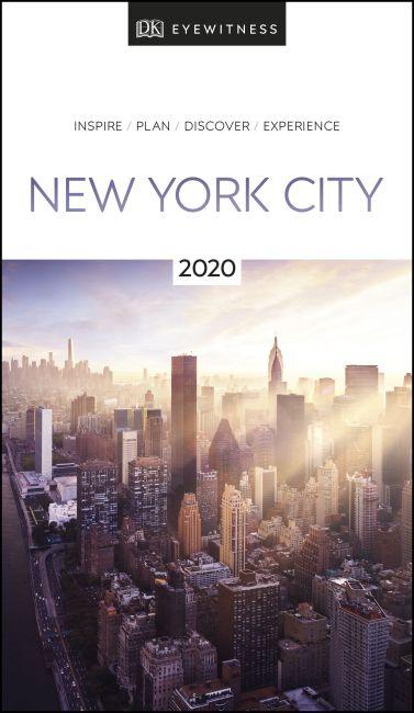 Paperback cover of DK Eyewitness New York City