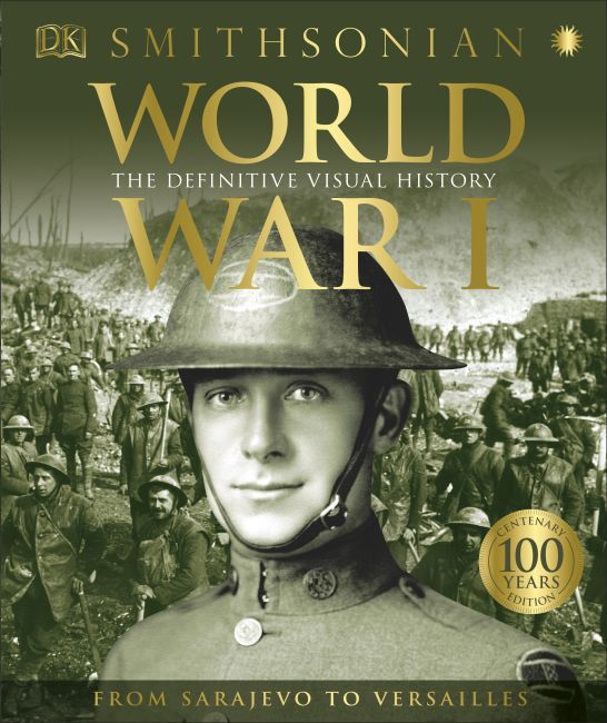 Hardback cover of World War I