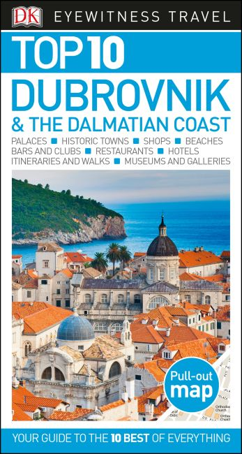 Paperback cover of Top 10 Dubrovnik and the Dalmatian Coast