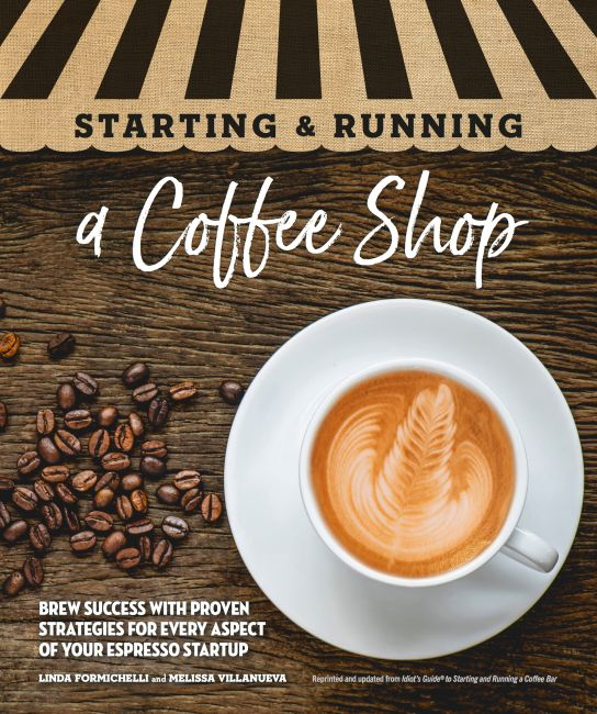 Paperback cover of Starting & Running a Coffee Shop