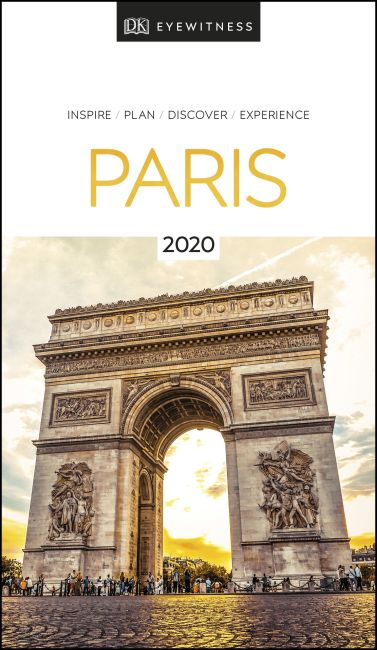 Paperback cover of DK Eyewitness Paris