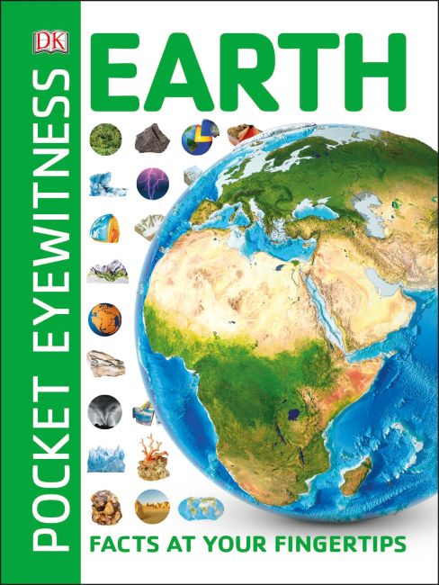 Paperback cover of Pocket Eyewitness Earth