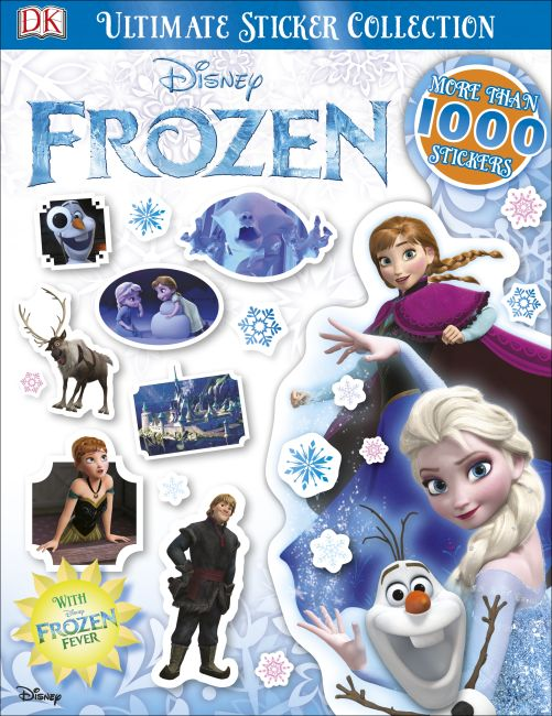 Paperback cover of Ultimate Sticker Collection: Disney Frozen