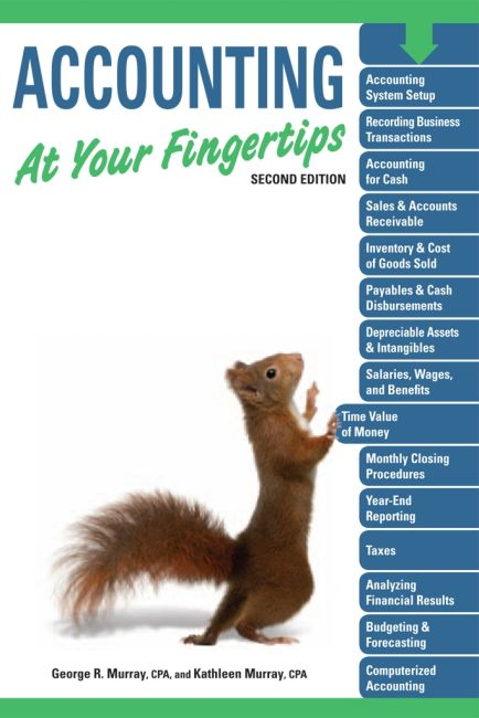Paperback cover of Accounting At Your Fingertips, 2e