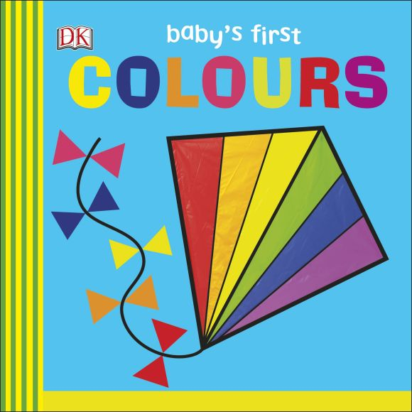 Board book cover of Baby's First Colours