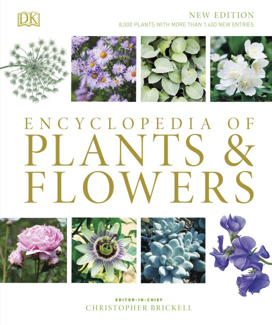 Hardback cover of Encyclopedia of Plants and Flowers