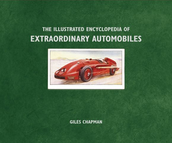 eBook cover of The Illustrated Encyclopedia of Extraordinary Automobiles