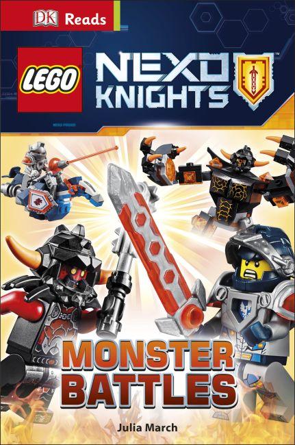 Hardback cover of LEGO® NEXO KNIGHTS Monster Battles