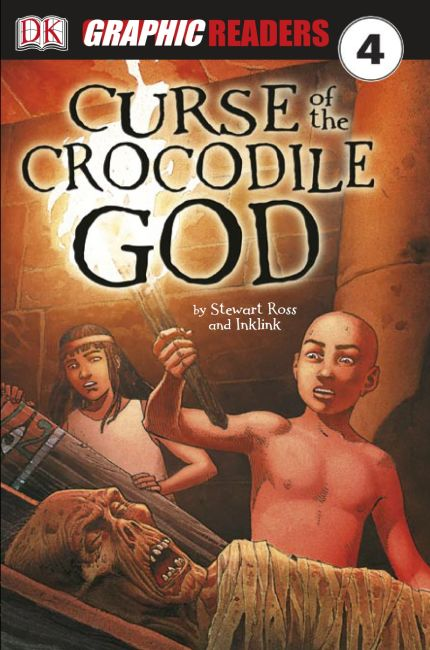 eBook cover of Curse of the Crocodile God