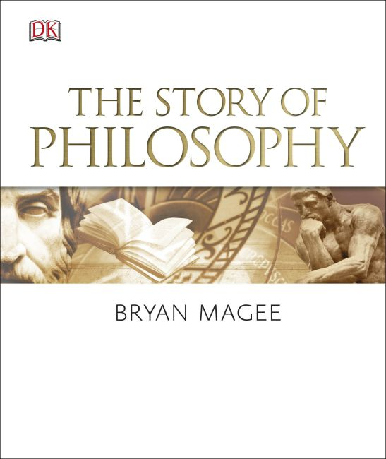 Hardback cover of The Story of Philosophy
