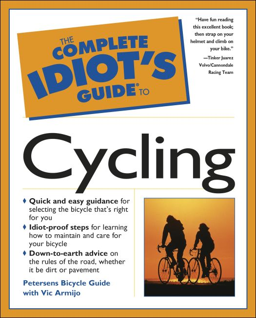 eBook cover of The Complete Idiot's Guide to Cycling
