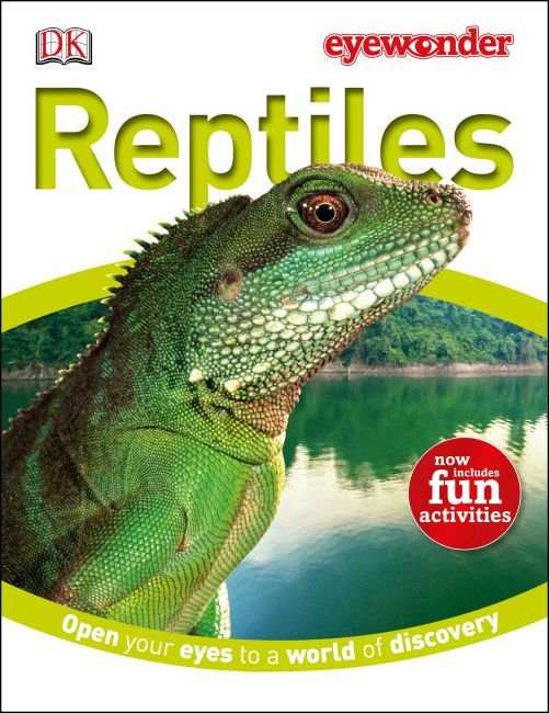 eBook cover of Eye Wonder: Reptiles