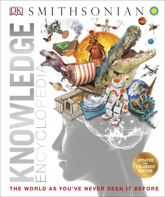 Hardback cover of Knowledge Encyclopedia