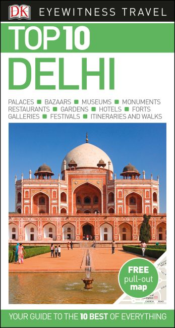 Paperback cover of Top 10 Delhi