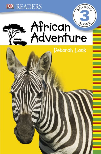 Paperback cover of DK Readers L3: African Adventure