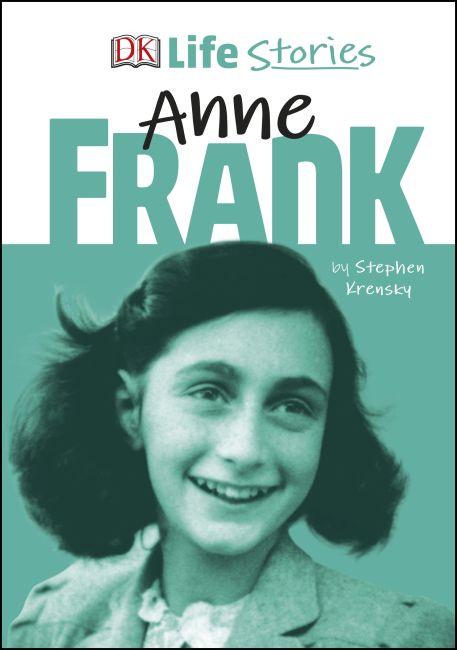 Hardback cover of DK Life Stories Anne Frank