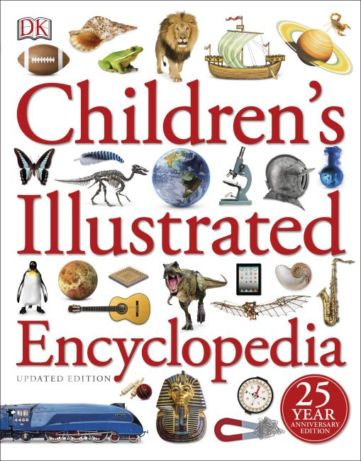Paperback cover of Children's Illustrated Encyclopedia