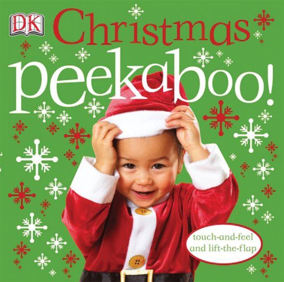 Board book cover of Christmas Peekaboo!