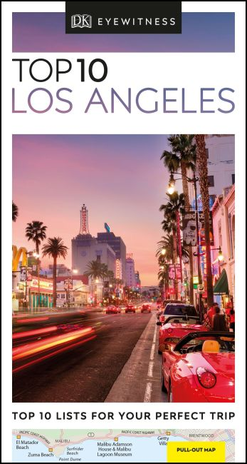 Paperback cover of DK Eyewitness Top 10 Los Angeles