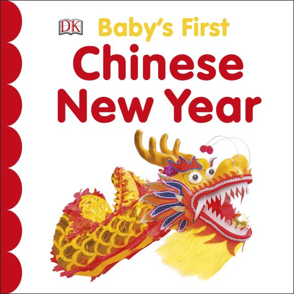 Board book cover of Baby's First Chinese New Year