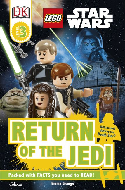 Paperback cover of DK Readers L3: LEGO® Star Wars Return of the Jedi