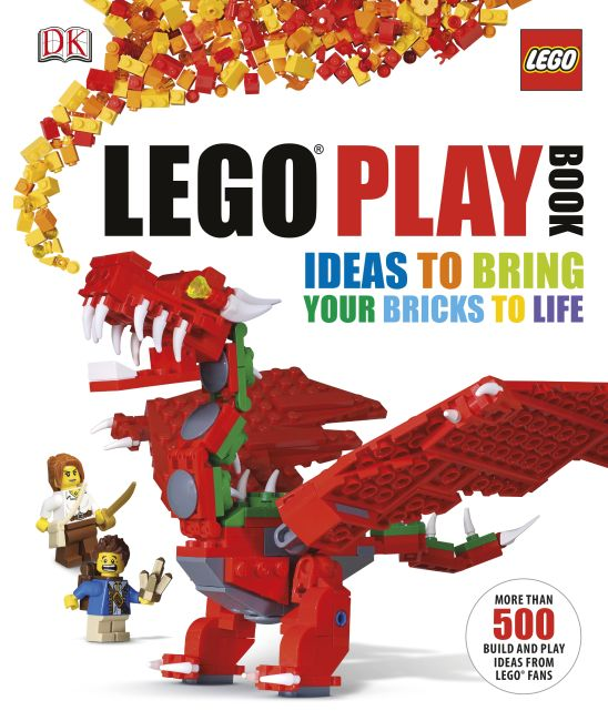 Hardback cover of LEGO® Play Book