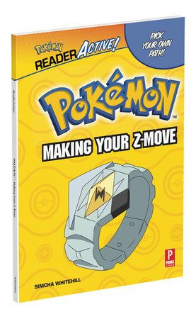 Hardback cover of Pokemon ReaderActive: Making Your Z-Move
