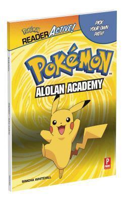 Hardback cover of Pokemon ReaderActive: Alolan Academy