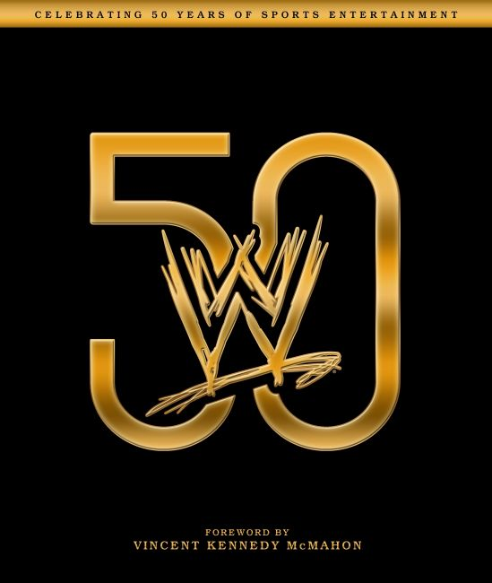 eBook cover of WWE 50