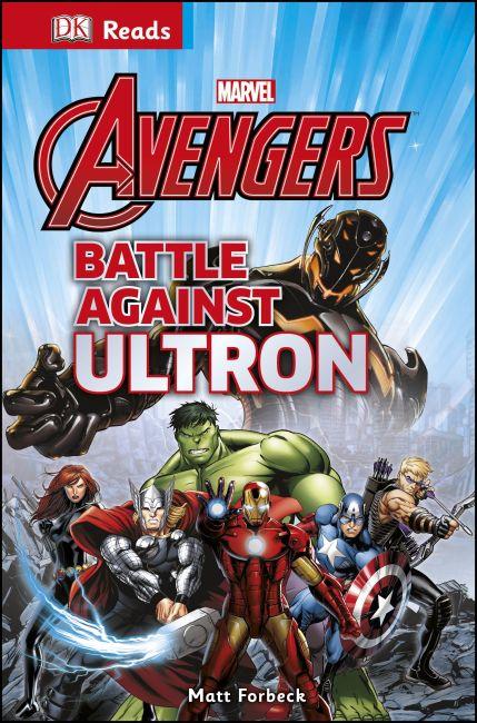 Hardback cover of Marvel Avengers Battle Against Ultron