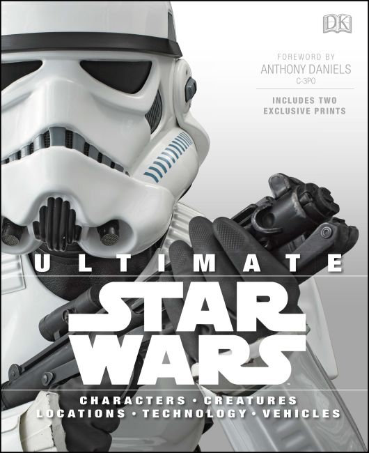 Hardback cover of Ultimate Star Wars