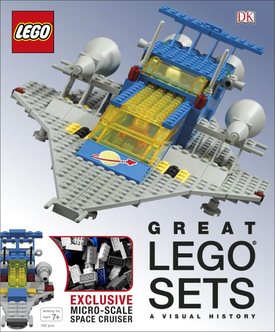 Hardback cover of Great LEGO® Sets A Visual History