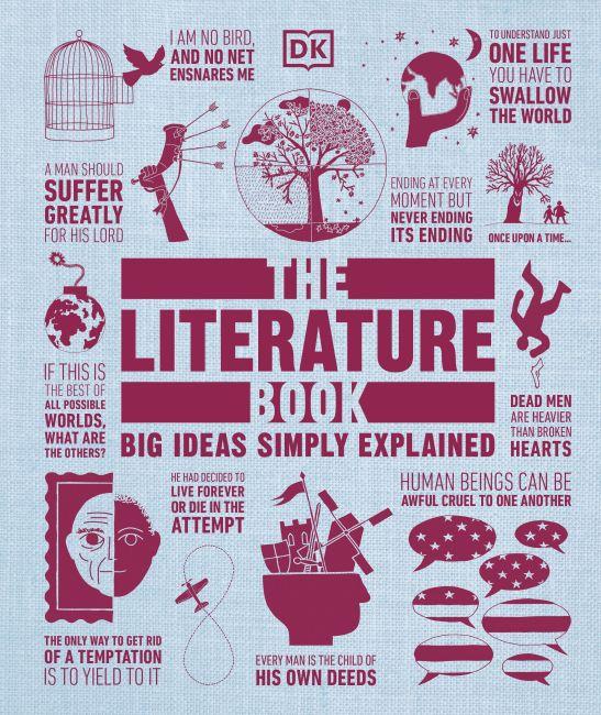 Hardback cover of The Literature Book