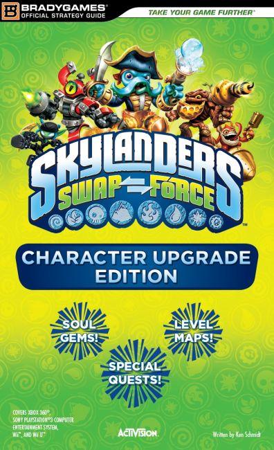 eBook cover of Skylanders SWAP Force Character Upgrade Edition