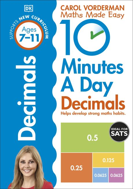 Paperback cover of 10 Minutes a Day Decimals