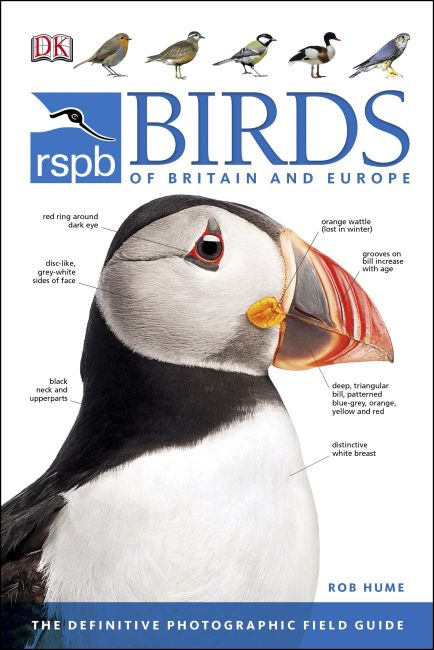 eBook cover of RSPB Birds of Britain and Europe