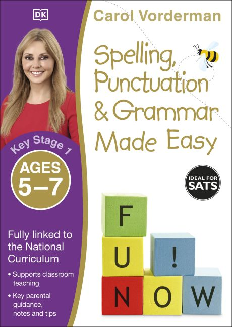 Paperback cover of Spelling, Punctuation and Grammar Made Easy Ages 5-7 Key Stage 1