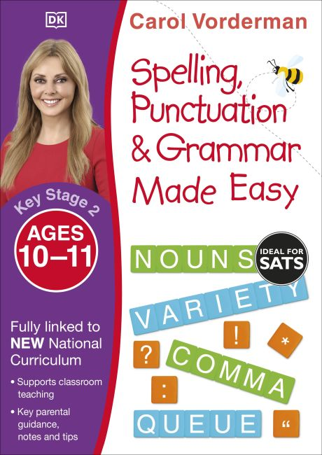 Paperback cover of Spelling, Punctuation and Grammar Made Easy Ages 10-11 Key Stage 2