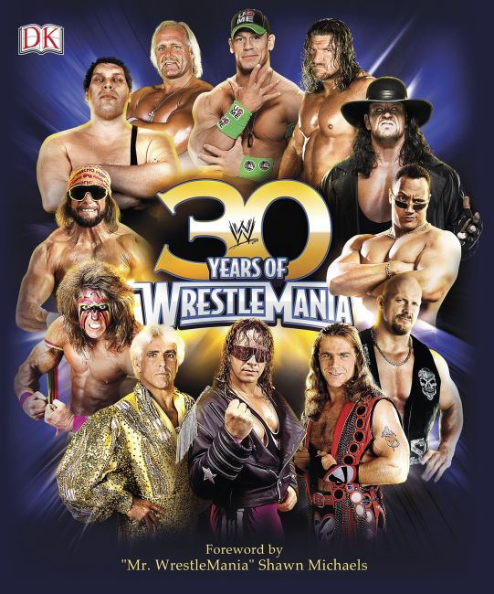 eBook cover of 30 Years of WrestleMania