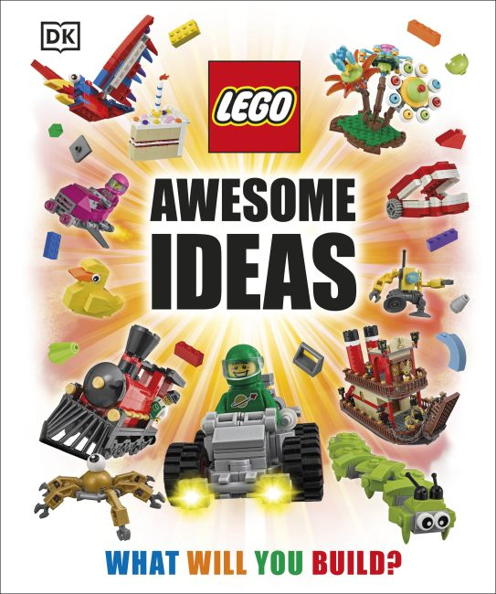 Hardback cover of LEGO® Awesome Ideas