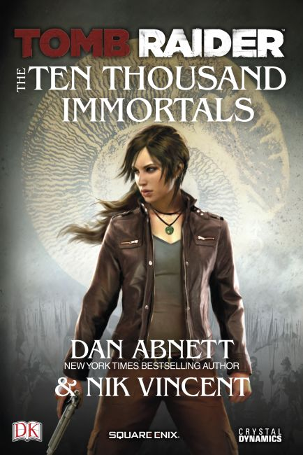eBook cover of Tomb Raider The Ten Thousand Immortals