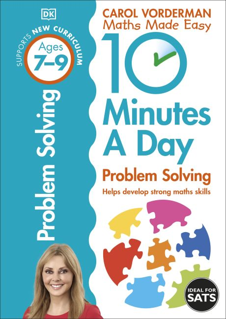 Paperback cover of 10 Minutes a Day Problem Solving Ages 7-9 Key Stage 2
