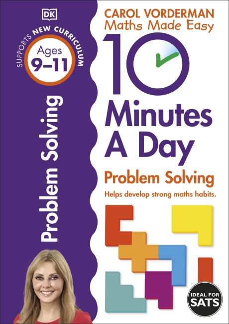 Paperback cover of 10 Minutes a Day Problem Solving Ages 9-11 Key Stage 2