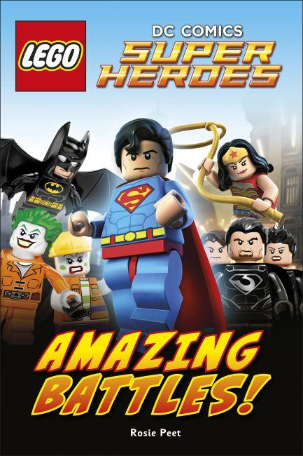 Hardback cover of LEGO® DC Comics Super Heroes Amazing Battles!