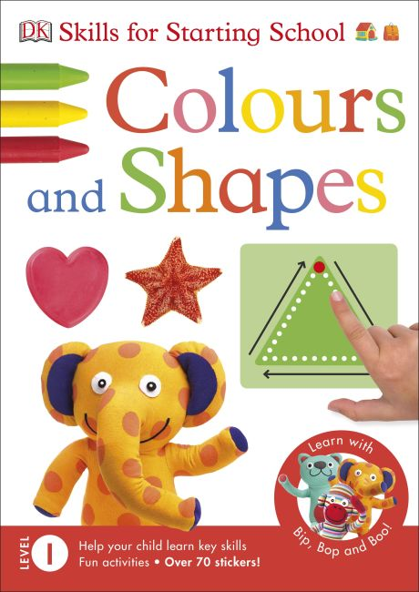 Paperback cover of Colours and Shapes