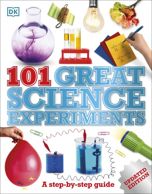 Paperback cover of 101 Great Science Experiments