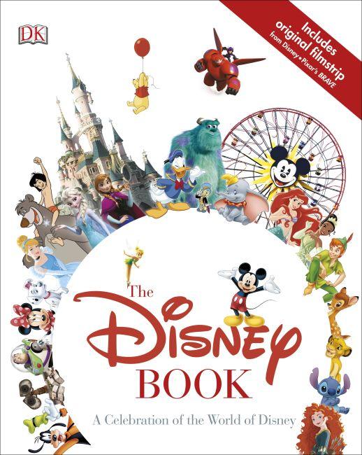 Hardback cover of The Disney Book